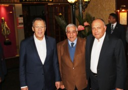 H. E. Sergey Lavrov, Russian Minister of Foreign Affairs & H.E. Sameh Shoukry Egyptian Minister of Foreign Affairs