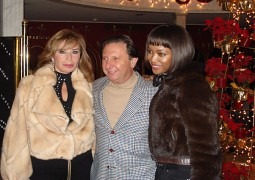 Naomi Campbell, English Super Model & Inas Al Degheidy, Egyptian Director
