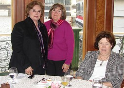 Mrs. Jehan Al Sadat, Former First Lady of Egypt & H.E. Mrs. Margaret Scobey, Ambassador of the USA to Egypt