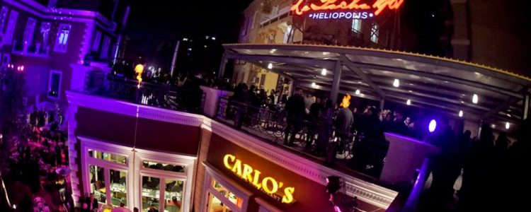 Another branch of Carlo's – Le Pacha in Heliopolis
